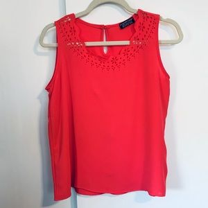 Stitch Fix Papermoon Top with Laser Cut Detail
